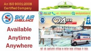 Sky Air Ambulance Service in Delhi Medical Emergency