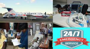 Sky Air Ambulance Service from Mumbai Airport