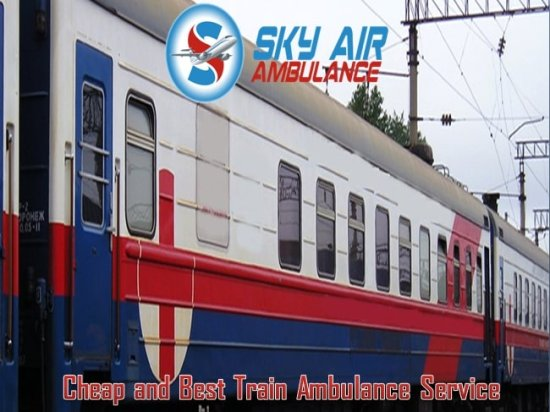 Sky train Ambulance Service in Jamshedpur.